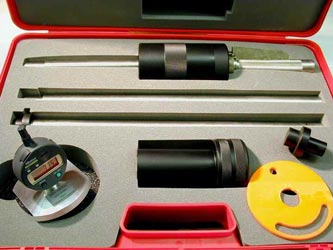 IMAGE SHOWS INSIDE OF CARRYING CASE