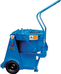 Image shows mixer with pan, pan tipper and trolley are not shown